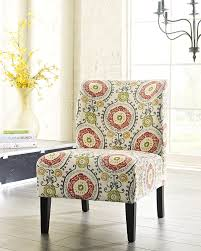 Unique Accent Chairs by Amazon Com Honnary Curve Back Fabric Accent Chair Floral