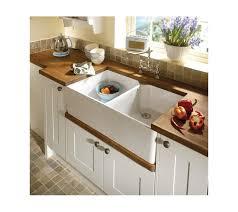 Double Kitchen Belfast Sink Classic White Ceramic Includes Free - Belfast kitchen sinks