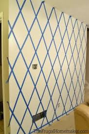 paint designs on walls with tape here u0027s the wall completely