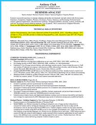 Sample Resume For System Analyst by Resume Template System Analyst Virtren Com