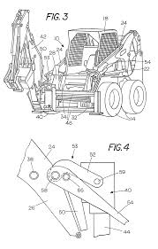 patent us8444367 locking device for securing a backhoe