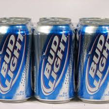 bud light 6 pack cost light 6 pack 12 oz cans