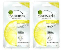 Masker Garnier Lemon dari ekstrak lemon jadikan wajah lebih cerah