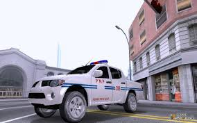 mitsubishi strada modified strada philippine national police hpg for gta san andreas