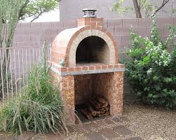 Fire Pit Pizza - seattle pizza oven outdoor landscape traditional with kits fire