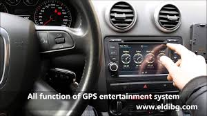 audi a3 multimedia system with gps ipod usb sd wifi phone book 3g