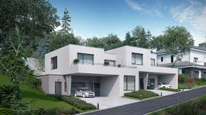 Duplex Building by Duplex House In Walding Austria U2013 Viscato