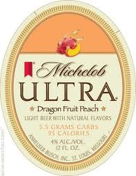 Michelob Ultra Light Cider Tasting Notes Michelob Ultra Dragon Fruit Peach Light Beer Usa