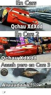 The Rock Meme Car - en cars qchau xdxdd en cars 2 autos moda y rock an roll dd chau