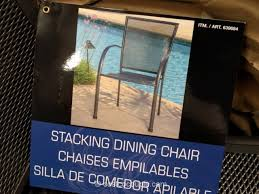 Sunvilla Bistro Chair Sunvilla Stacking Bistro Chair