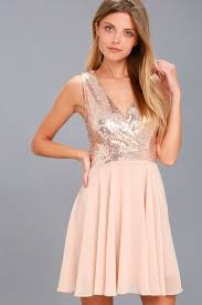 rose gold dress sequin dress bodycon dress 59 00