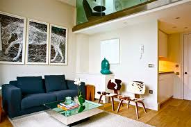 cowhide chair living room modern with area rug blue couch central