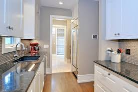recessed baseboards baseboard trim ideas kitchen transitional with gray wall white