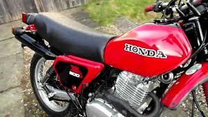 honda 500 for sale honda xl 500 s 1981 in red youtube