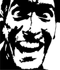 bruce campbell evil dead stencil template stencil templates