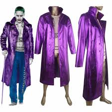 Mens Joker Halloween Costume Online Buy Wholesale Jared Leto Joker Squad Costume From