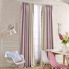 Purple Thermal Blackout Curtains by Amazon Com Melodieux Sweety Pompon Thermal Insulated Blackout