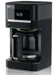 designer kaffeemaschinen de braun kf 7020 kaffeemaschine inkl glaskanne