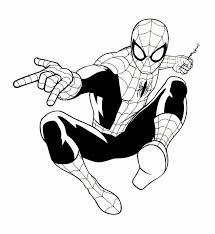 8 spiderman coloring book art images book art