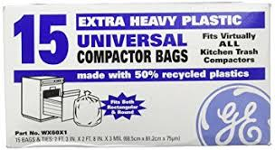 electric trash compactor amazon com general electric wx60x1 trash compactor bags home