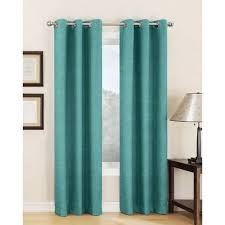 Silver And Blue Curtains Window Coverings Window Curtains Shopko