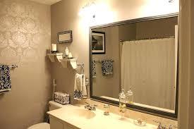 how to frame a bathroom mirror frames for bathroom mirrors juracka info