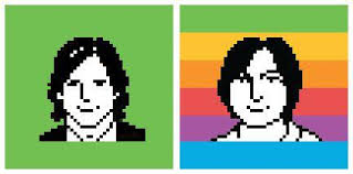 icon designer mac icon designer susan kare releases new portraits of steve