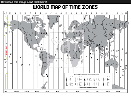 Time Zone Map by Timezone Map Vector Yayimages Com