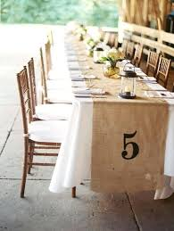 discount linen rental burlap table runners for wedding bazaraurorita