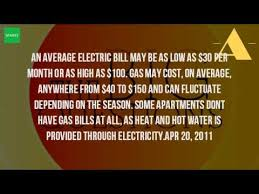 average heat bill for 2 bedroom apartment how much is electricity for a 2 bedroom apartment free online