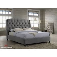 Grey Bed Frame King Size Velvet Bed Frame Duluthhomeloan