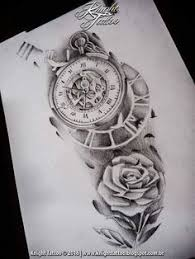 75 brilliant pocket watch tattoo designs ever made pocket watch