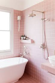 Pink Tile Bathroom by Best 25 Pink Bathrooms Designs Ideas On Pinterest Pink Bathroom