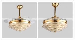 acrylic ceiling fan blades crystal led ceiling fan light with acrylic fan blade ceiling fan light