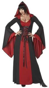 Red Witch Halloween Costume Witch Coven Halloween Party Ideas