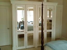 Mirrored Folding Closet Doors Bi Fold Closet Door Bifold Mirror Closet Door Handle