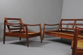 danish sofa group in teak room of art
