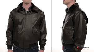 Boys Leather Bomber Jacket Landing Leather Bomber Jacket Brown Youtube