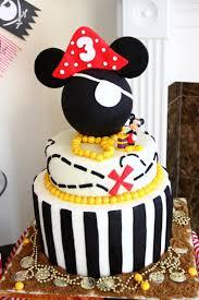 Pirate Cake Decorations Kara U0027s Party Ideas Mickey Mouse Pirate Boy Disney Themed Birthday