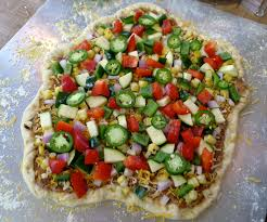 California Pizza Kitchen Tostada Pizza Spicy Mexican Chicken Pizza U2013 The Usual Bliss