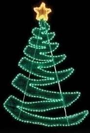 4 pre lit peppermint twist swirl rope light outdoor yard