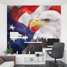 american bald eagle wall mural american bald eagle office wall mural