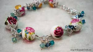 diy crystal bead bracelet images How to make a bead and swarovski crystal bracelet jpg