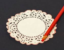 funezcrafts easy crafts paper doily folded