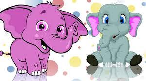 elephant song for children elephant cartoon for children kids