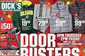 Is Sporting Goods Open On Thanksgiving S Sporting Goods Black Friday Ad 11 23 11 25