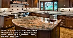 Kitchen Island Prep Sink Kitchen Design - Kitchen prep sinks