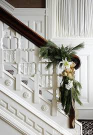 Elegant Entryways Festive Holiday Staircases And Entryways Traditional Home