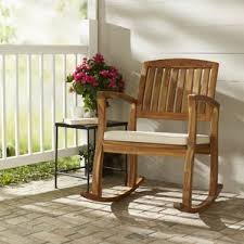 Rocking Chair With Cushions Patio Rocking Chairs U0026 Gliders You U0027ll Love Wayfair
