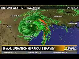 houston doppler map 10 a m hurricane harvey update 8 26 17